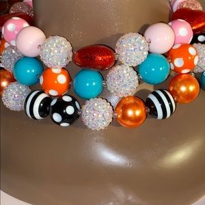 Love ball Necklace size20 inches